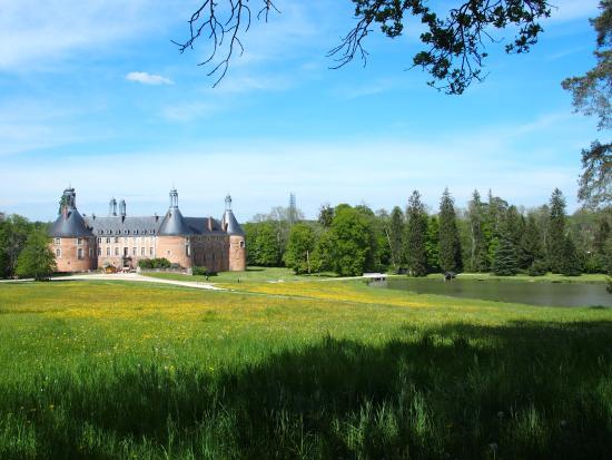 Saint-Fargeau, Francja: Le château vu du parc