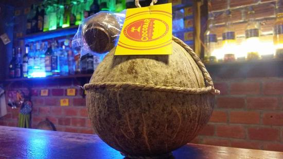 Coco Bar: coconut wine