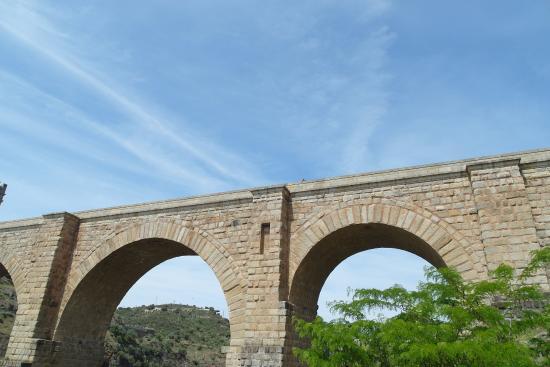 Alcantara, İspanya: Punete desde abajo
