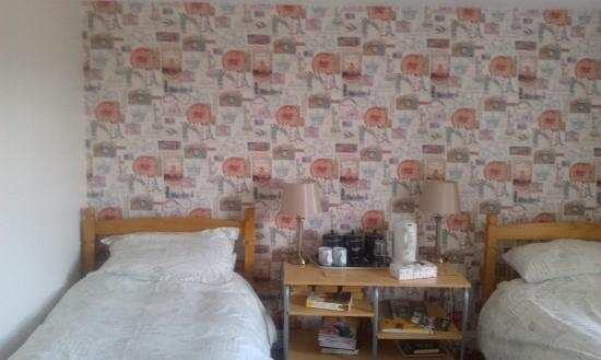 Mad Hatter: Twin bedded room
