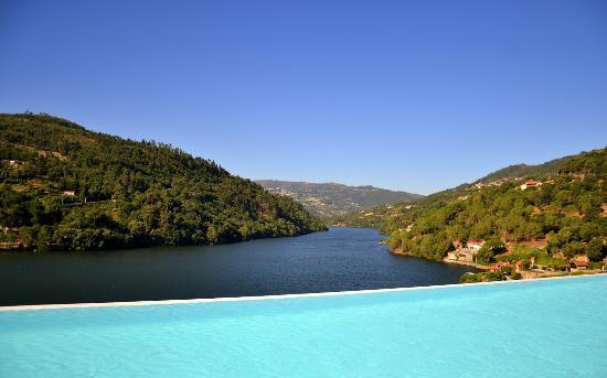 Infinity Pool Foto De Douro Royal Valley Hotel Spa Baiao