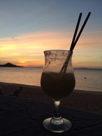 Hydeaway Bay, Αυστραλία: Tasty Cocktail with Sunset