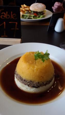 Cluanie Inn: meal