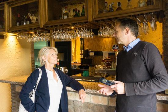 Arriate, Spanyol: Evalueren met Frank