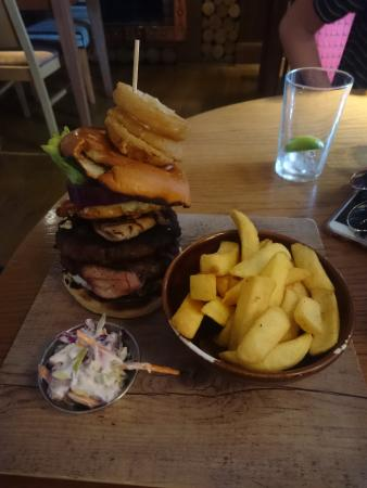 Greasby, UK: The Ultimate Burger