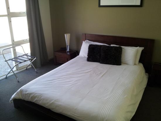 McLaren Vale, Australien: Apartment bedroom.