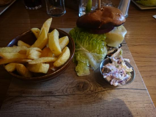 Greasby, UK: Wild Boar Burger