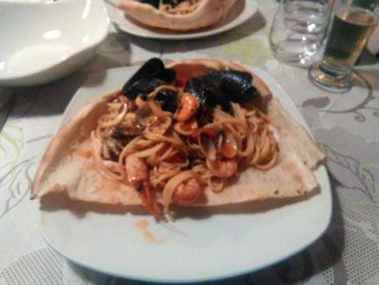 Limbiate, Italia: Spaghetto allo Scoglio