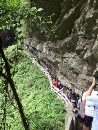 Wulong County, Çin: 重慶龍水峽地縫
