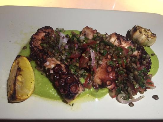 Leb-i Derya: Grilled Octopus