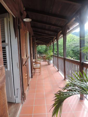 Habitation Getz : notre terrasse