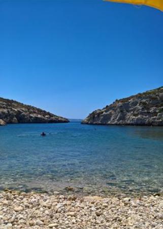 Xewkija, Malta: Vue depuis le transat