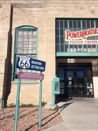 Kingman, AZ: Outside the museum