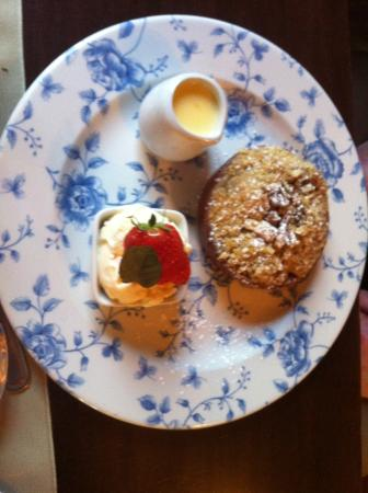 Tully Mill Restaurant: Apple Crumble