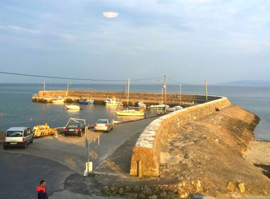 Barna, İrlanda: The view from our table