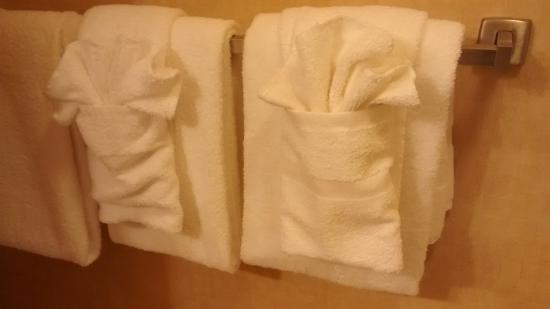 Rodeway Inn & Suites near Outlet Mall - Asheville: Towels - Nice Touch!