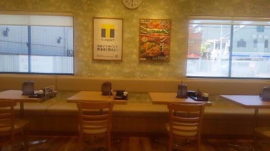Yoshinoya Machida Ogawa: 店内の様子
