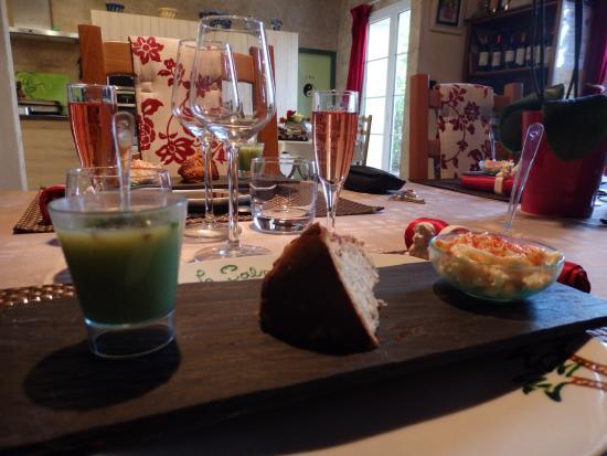 Le Clos de la Palmeraie: Excellente présentation des mets. Et saveur exceptionnelle.