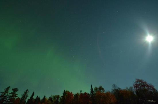 Iroquois Falls, Canada: The magical sky