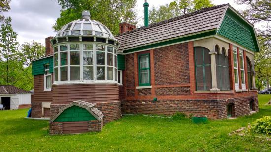 "Francis Park: ""Her"" sleeping porch and solarium."