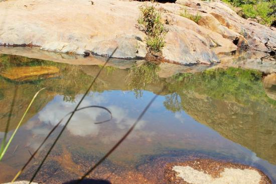 Ambalavao, Madagascar: Paarticolare acqua