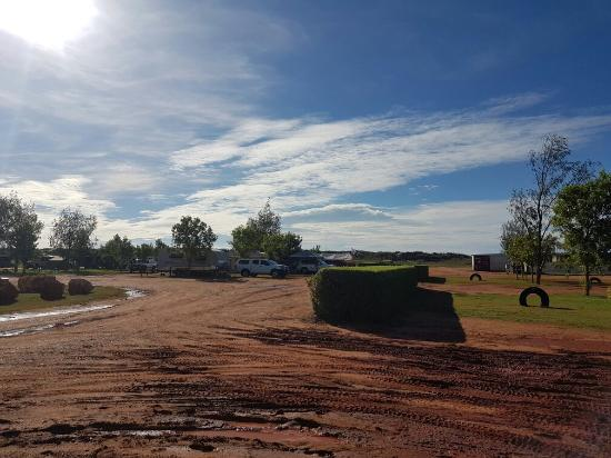 Awesome Caravan park with great fishing just meters away