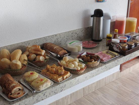 Pousada Vento Sul: Café da manhã