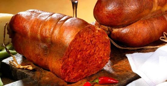 'nduja tipico salame calabrese di Spilinga