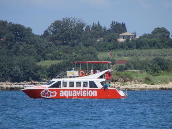Aquavision Glassboat Katamaran