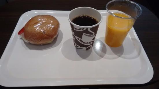Stockholm Inn Hotell: Das nicht sehr üppige Frühstück