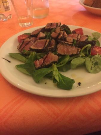 Vado Ligure, İtalya: Ventresca di tonno