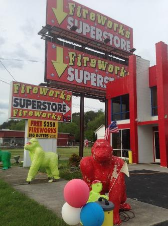 Gorilla Fireworks U.S.A.