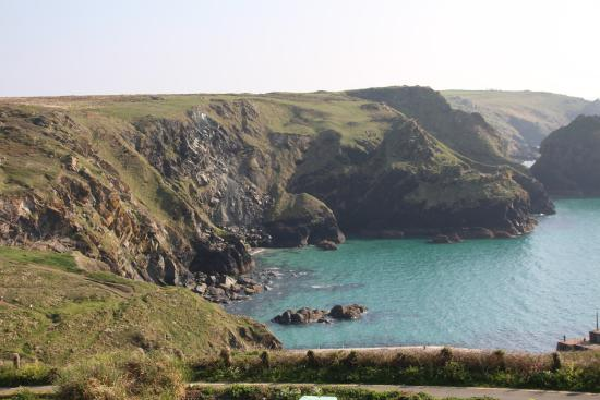 Mullion, UK: View from our balcony in 106