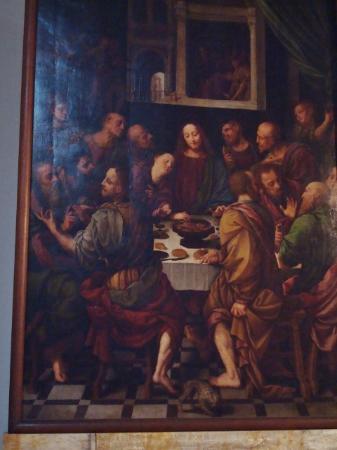 Basilica di San Nazaro Maggiore e Santi Apostoli: Ultima cena, di Bernardino Lanino