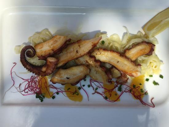 """Restaurant """" Marco & Momo"""": Gegrillter Tintenfisch"""