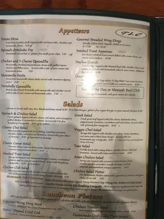 Lovingston, Βιρτζίνια: menu