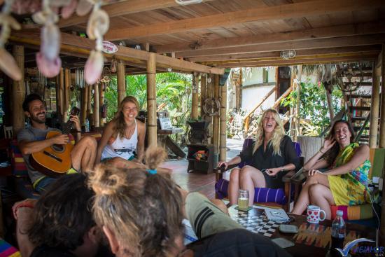 Hostel Viejamar Surf: Living Room
