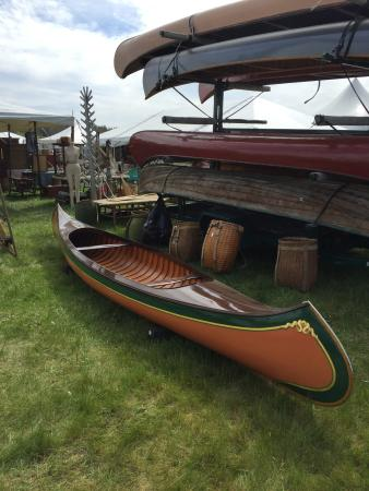 Brimfield, MA: Old canoes