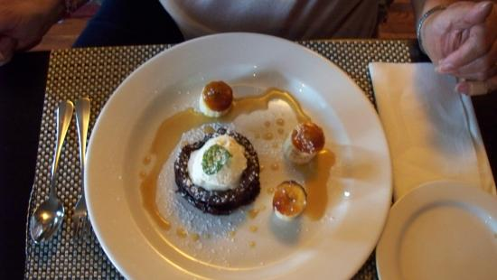 The Huron Club: Chocolate cookie dessert is more than a cookie!