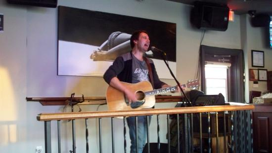 Collingwood musician Craig Smith entertains at The Huron Club.
