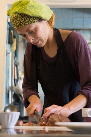 Simorre, Francia: La cuisinière