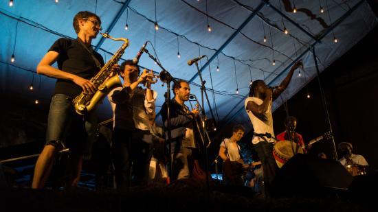 Simorre, Francia: festivals en été