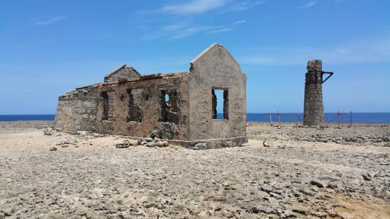 Washington-Slagbaai National Park, Bonaire: Historical buildings.