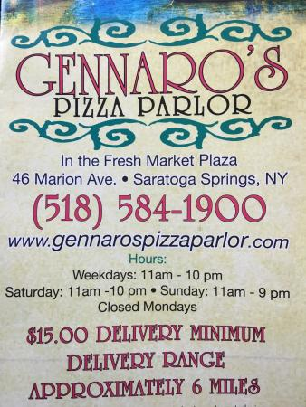 Gennaro's Pizza & Restaurant: photo0.jpg