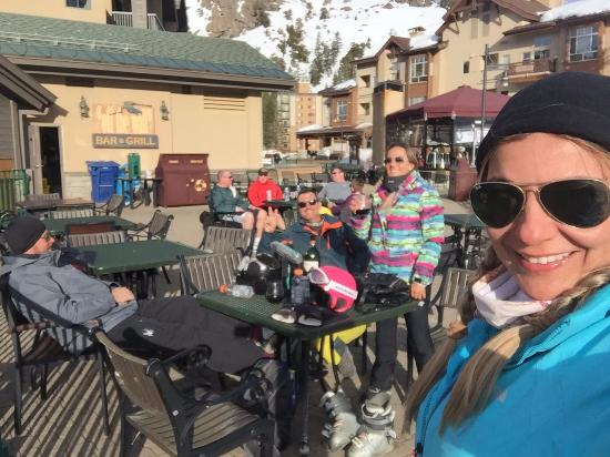 Kirkwood, CA: Após um dia de ski, nada como um vinho!