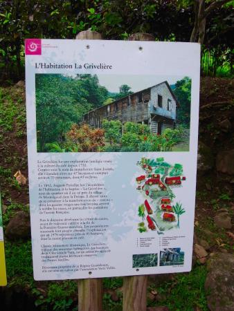 Vieux-Habitants, Guadalupe: panneau
