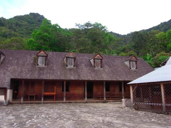 Vieux-Habitants, Guadalupe: habitation