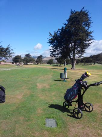 Grover Beach, Kalifornien: View from the first tee
