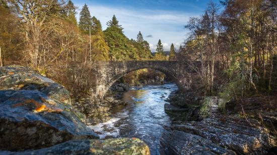 One of two bridges at Invermoriston.