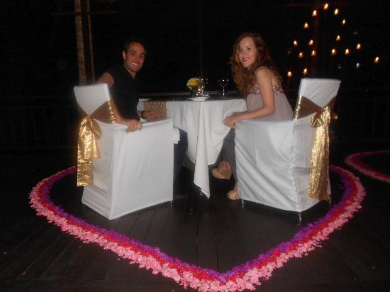Tegalalang, Indonesia: Dinner en amoureux! Magical place!